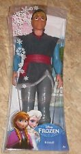 NEW Disney FROZEN Kristoff Sparkle Doll Barbie Sized Toy Figure Mountain Man Boy
