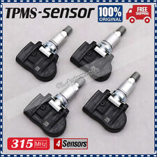 Set of (4) For Land Rover Jaguar TIRE PRESSURE SENSOR TPMS BH52-1A159-CA 315MHz