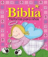 Biblia Historias para Niñas by Lara Ede (2013, Board Book)