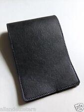 GREY Golf Yardage Book Cover Leather Scorecard Holder Men PGA Gifts FREE SHIPPIN