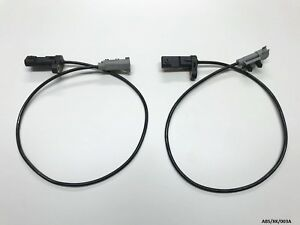2 x Rear ABS Sensor Right & Left for Jeep Commander XK 2005-2010 ABS/XK/003A
