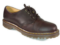 Dr Martens Mens  Brown Leather Casual Lace Up Oxfords Shoes Size US 11 M | UK 10
