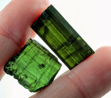 32.6Ct Natural Green Tourmaline Crystal Facet Rough Specimen YBGT1308