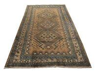 "Authentic  Wool RNR-6603 5' 3"" x 10' 1"" Persian Bakhshayesh Rug"