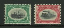 More details for usa series 1901 1 & 2c stamp old us mvlh mint ex-old time american collection