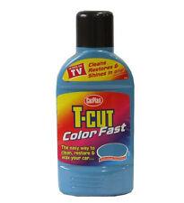 CARPLAN T-CUT Colour Fast polish wax scratch remover LIGHT BLUE color car 500ml