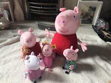 Peppa Pig plush bundle-1 talking