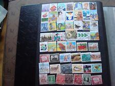 AUSTRALIE - 51 timbres obliteres (tout etat) stamp australia