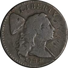 1794 Large Cent 'Head of 1794' Net G S.30 R.1 Nice Strike
