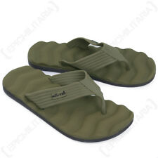Flip Flops - Olive Green Sandals Beach Summer Outdoor Footwear All Sizes Sun New