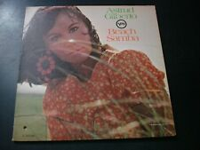 ASTRUD GILBERTO BEACH SAMBA LP RECORD