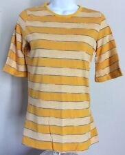 8e0b2a16e26a3 T-Shirt Yellow 1970s Vintage Tops for Women for sale | eBay