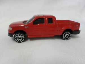 Maisto 1/64 Scale 2004 Red Ford F-150 FX4 Pick Up Truck Loose