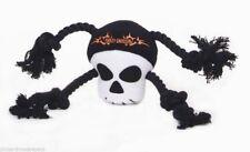 Authentic Harley-Davidson Plush Rope Tug Toy - Skull