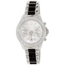 Invicta 20510 Lady's Crystal Accented Silver Dial Day Date Watch