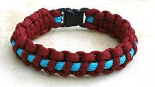 Parachute Regiment 7 strand Para Cord  bracelet with slide catch