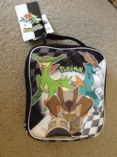 New With Tag Pokemon Lunchbox Lunch Tote Insulated