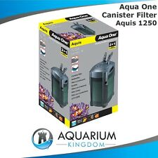 Aqua One Aquis II 1250 External Canister Filter CF1250 -Aquarium Fish Tank -Taps