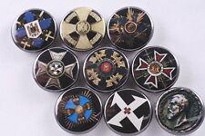 Magnet Lot Set of 9 Romania Romanian Kingdom Medal Order Cross St Merit King