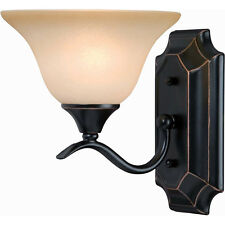 Oil Rubbed Bronze 1 Bulb Bathroom Light Wall Sconce #127967