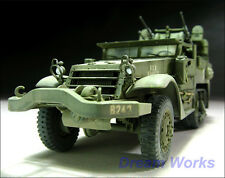 Award winner Built TAMIYA 1/35 M16 Halftrack +PE