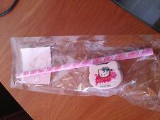 Set scuola Hello Kitty matita gomma da cancellare nuova