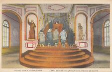 CF06.Vintage Postcard.The Holy Stair in the Scala Santa. Quebec. Canada