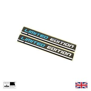 Limited Edition Wing Badges Fender Emblem Blue / Black / Silver