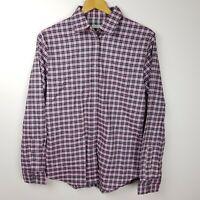 RM Williams Olivia Shirt Womens Size 12 Pink Check Long Sleeve BNWT