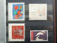 timbres France : 1974 YT N° 1811, 1812, 1813, 1830 **