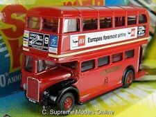 AEC RT LONDON BUS MODEL SUMMER HOLIDAY FILM 1:76 SIZE CLIFF RICHARD RED 50TH T3