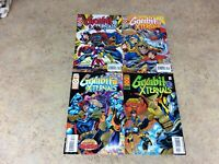GAMBIT AND THE XTERNALS #1,2,3,4 LOT OF 4 COMIC  NM 1995 MARVEL