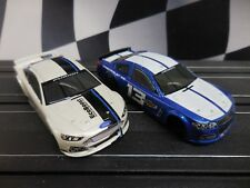 2 AFX Mega G+ Ford & Chevy Stocker Bodies ~ Add your own Chassis ~ Fits AW, Tomy