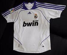 2007 2008 REAL MADRID ADIDAS SMALL LFP ESPAñA SPAIN JERSEY CRISTIANO RONALDO CR7