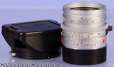 LEICA 35MM SUMMILUX-M F1.4 AA SILVER CHROME ASPHERICAL PROTOTYPE 11873 LENS 1/1
