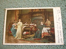 Postcard. A Musical entertainment, posted in 1903, to Upper Norwood, S E London