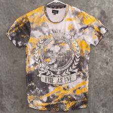 RISE AS 1NE Mens Studded T Shirt Size XL Multicolor