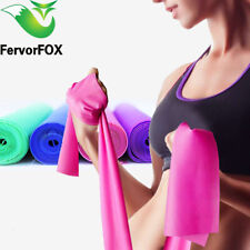 Exercise Resistance Bands Fitness Rubber Yoga Elastic