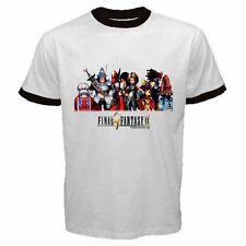 Final Fantasy 9 FF IX TEAM Game #AN01 Men Ringer T Shirt S M L XL XXL