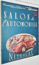 RARE AUTOMOBILE SALON DE 1947 NUMERO SPECIAL RENAULT DELAGE PEUGEOT USA CCCP GB