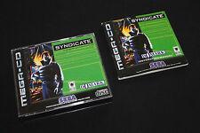 SYNDICATE SEGA Mega Drive CD in OVP mit Anleitung TOP Zustand +++EXTREM RAR+++