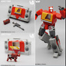 New In Stock Deformabl Robot Blaster Emitter MFT MF-49 MF49 G1 Action Figure Toy