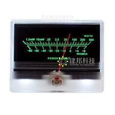 VU Meter DB Level Header Audio Preamp Power Amplifier Chassis Backlight TN-90A