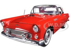 1956 FORD THUNDERBIRD HARD TOP RED 1:18 DIECAST MODEL CAR BY MOTORMAX 73176