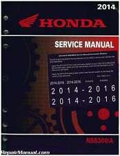 2014-2016 Honda NSS300 A Forza Scooter Service Manual : 61K0402