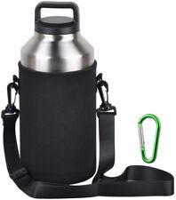 EEEKit Water Bottle Sleeve For 64oz YETI Rambler Ozark Rtic Stainless Steel Bott