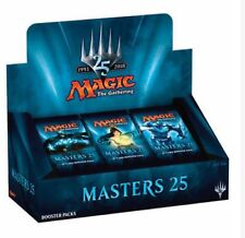 Magic: the Gathering MTG MASTERS 25 REPACKED BOOSTER BOX 24 REPACK FOILS