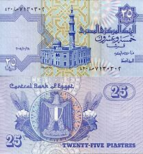 EGYPT 25 Piastres Banknote World Money UNC Currency BILL p57b Africa Note 1993