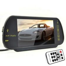 HD 7Inch LCD Color Rear View Mirror Monitor Bluetooth FM USB SD MP5 Monitor 2 AV