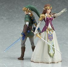 Authetic Figma The Legend of Zelda Twilight Princess Plus LINK Action Figure SET